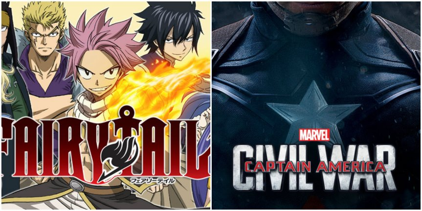 Fairy Tail x Marvel?!