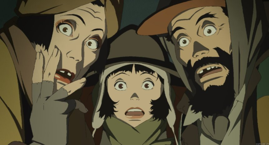 The Creation of Warmth Without a Home in Tokyo Godfathers {OWLS BLOG TOUR}